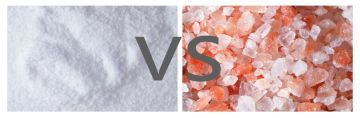 Himalayan Crystal Salt Versus Table Salt