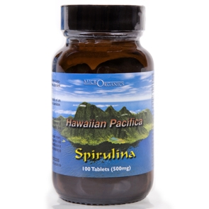 Hawaiian Spirulina Pacifica Tablets- Glass